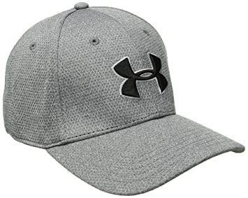 Under Armour Men s Heather Blitzing Curved Brim Cap  Amazon.co.uk ... f95b00ccc23