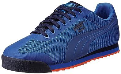 Puma Roma HM Mens Puma Royal/Peacoat/Mandarine Red N560797KL Shoes