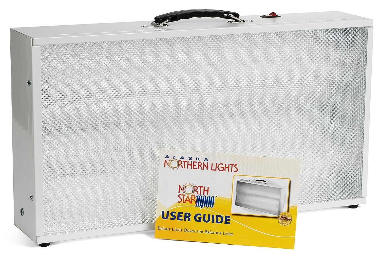 Amazon.com: Bright Light Therapy Box - Alaska Northern Lights- North Star  10,000: Health u0026 Personal Care