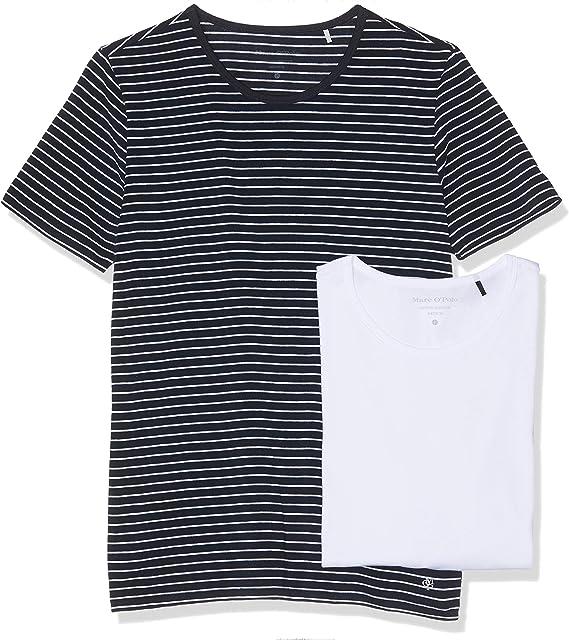 Marc OPolo Camiseta sin Mangas (Pack de 2) para Hombre: Amazon.es: Ropa y accesorios