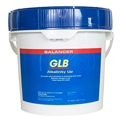 GLB Alkalinity Up (25 lb) : Swimming Pool Chemicals And Supplies : Garden & Outdoor