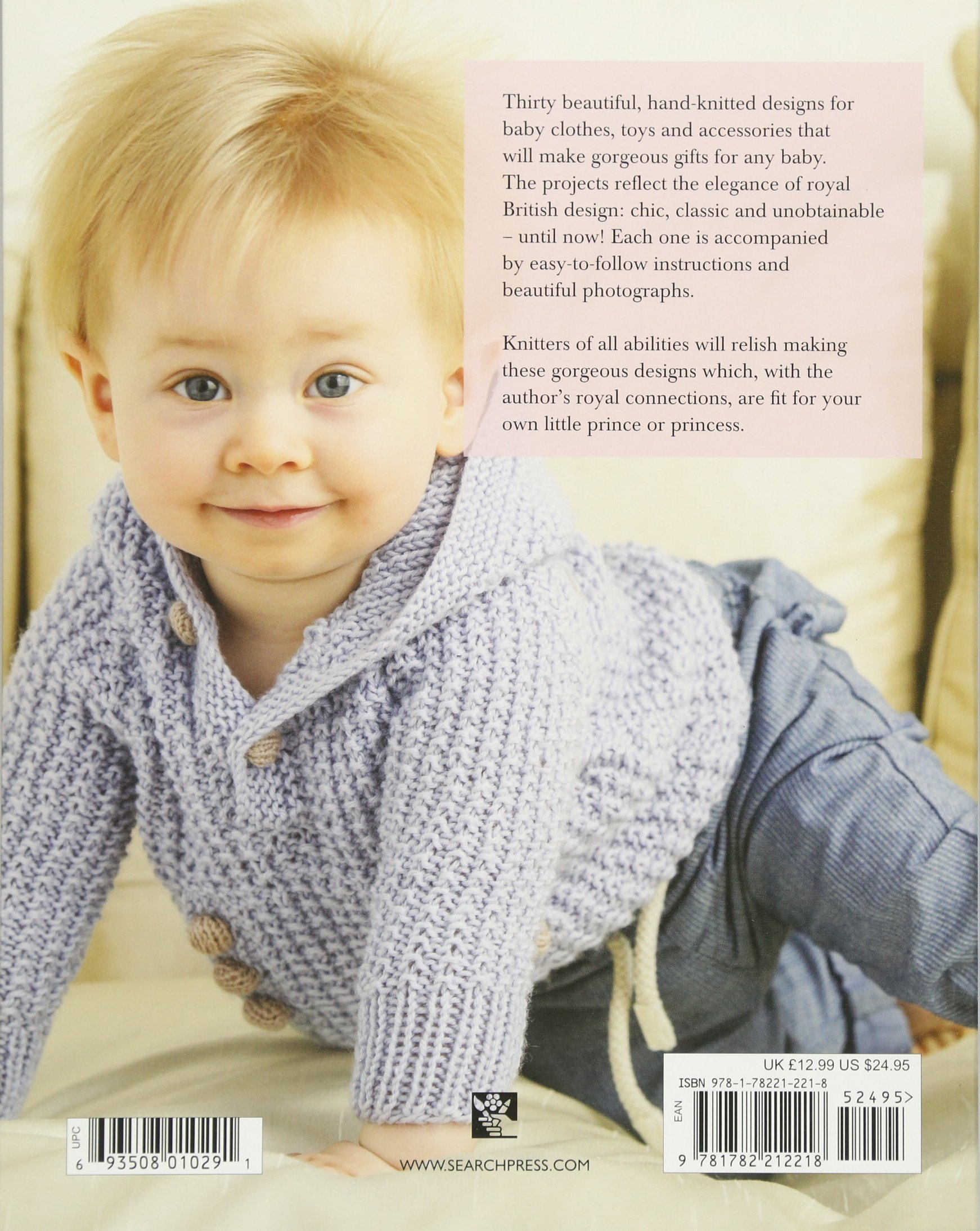 Very British Baby Knits 30 stylish designs fit for a royal baby