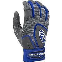 Rawlings 5150de béisbol–Guantes de bateo Adulto, tamaño Grande, Color Azul Real