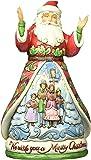 Jim Shore Heartwood Creek Wish You a Merry Christmas Santa Figurine 4053703