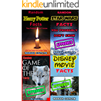 Random Facts You Probably Don't Know: Trivia BUNDLE: Harry Potter, Star Wars, Game of Thrones, and Disney