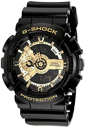 0b2c487ce0d Image Unavailable. Image not available for. Color  Men s Casio G-Shock  Classic Black and Gold ...