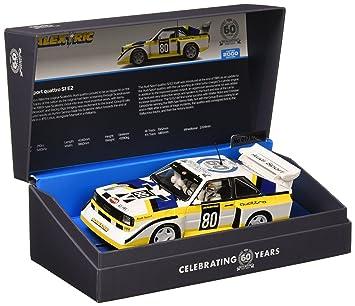 Scalextric C3828A 60th Anniversary Collection - Audi Sport Quattro S1 E2 de 1980: Amazon.es: Juguetes y juegos