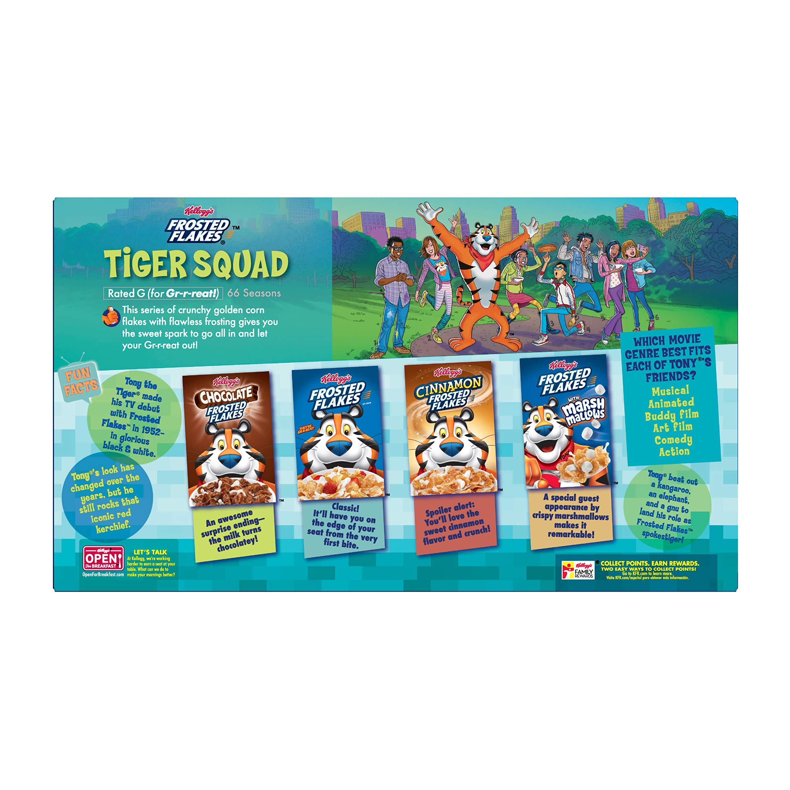 Kellogg's Frosted Flakes, Breakfast Cereal, Fat-Free, Family Size, 24 oz by Kellogg's (Image #8)