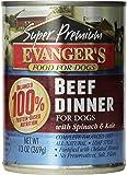 Evanger's Gold Super Premium Grain Free Beef Dinner for Dogs, 12.8-ounce, 12 pack