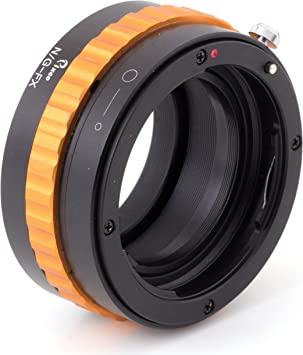 Pixco Lens Adapter Suit for Nikon G Lens to Fujifilm X X-A5 X-A20 X-A10 X-A3 X-A2 X-A1 X-T2 X-E3 X-E2S X-E2 X-E1 X-T100 X-T10 X-T1IR X-T1 X-T20 X-H1 X-M1 X-Pro1 X-Pro2