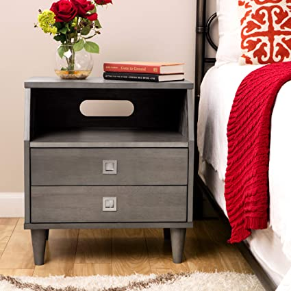 Incredible Amazon Com Strick Bolton Marley 2 Drawer Nightstand Short Links Chair Design For Home Short Linksinfo