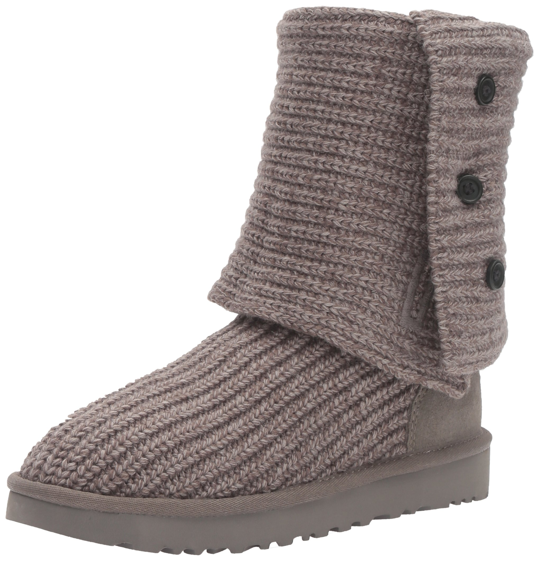 UGG Women's Classic Cardy Winter Boot, Grey, 10 B US