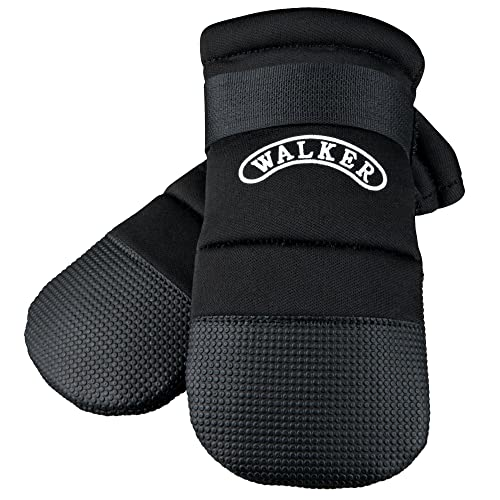 Trixie Walker Care Protective Boots, Medium, Black(Border Collie)