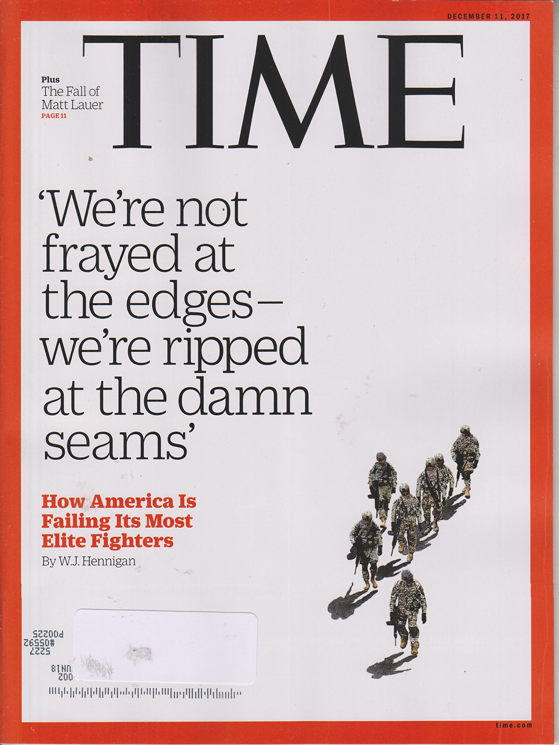 Time December 11, 2017 How America is Failing Its Most Elite Fighters PDF