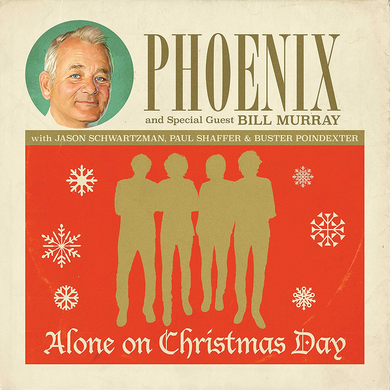 Phoenix and special guest Bill Murray - Alone On Christmas Day [7 ...