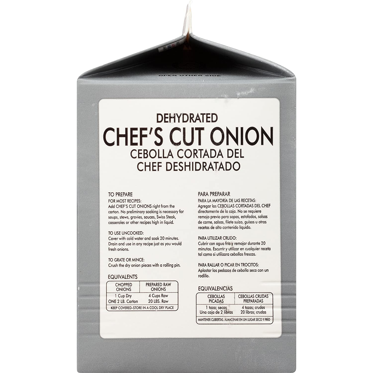 Amazon.com : McCormick Culinary Chefs Cut Onions, 2 lbs : Onion Spices And Herbs : Grocery & Gourmet Food