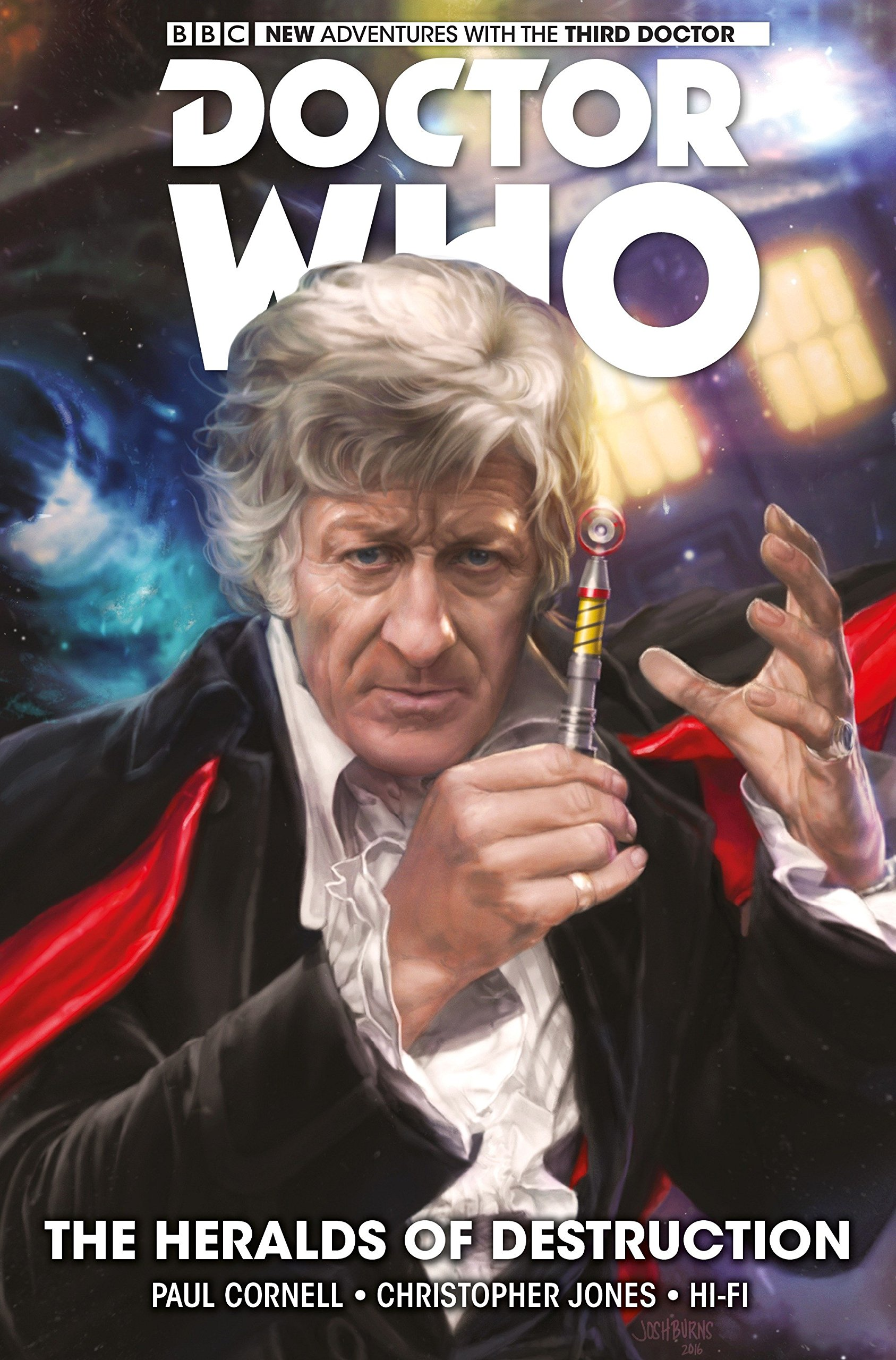 Read Online Doctor Who: The Third Doctor Volume 1: The Heralds of Destruction pdf