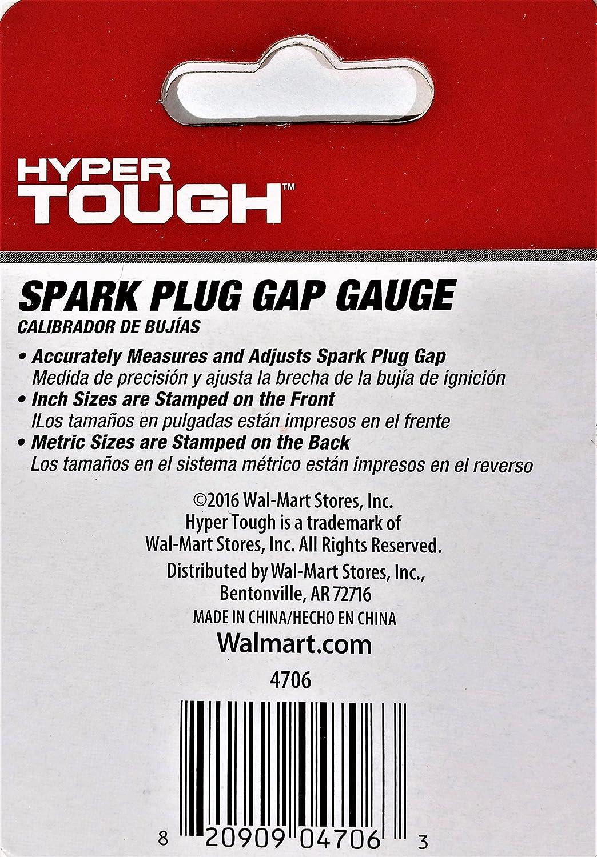Amazon.com: Key Tag - Gap Opener - Smooth Round Spark Plug Gap Gauge: Automotive