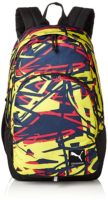 702f153b0d728 Puma Peacoat-Sketch Graphic Casual Backpack (7298807)  Amazon.in  Bags