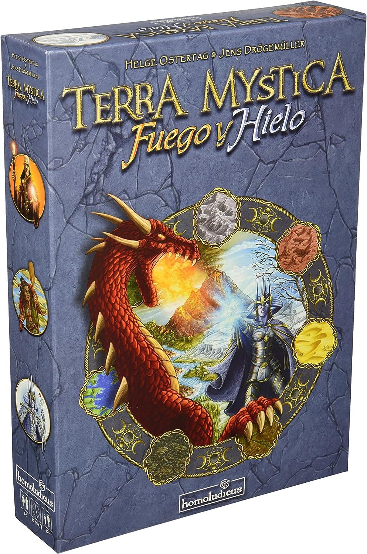 Devir - Terra Mystica: Fuego y Hielo (HLTEMYFUHI): Amazon.es: Juguetes y juegos