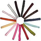 Laribbons Assorted Grosgrain Ribbon Bundle for Gift Wrap Craft,Scrapbooking,Wedding Decr