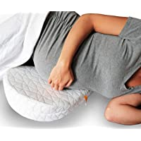 JILL & JOEY Pregnancy Wedge Pillow - Support Your Body Belly Back & Knees During Maternity - Soothes Pelvic Pain and Helps Sleeping - Firm Memory Foam Washable Cover and Travel Bag