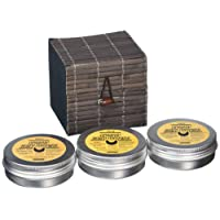 Organic Beard Luxury Conditioning Beard Butter cera condizionatrice da barba, 50 ml, confezione da 3 pezzi