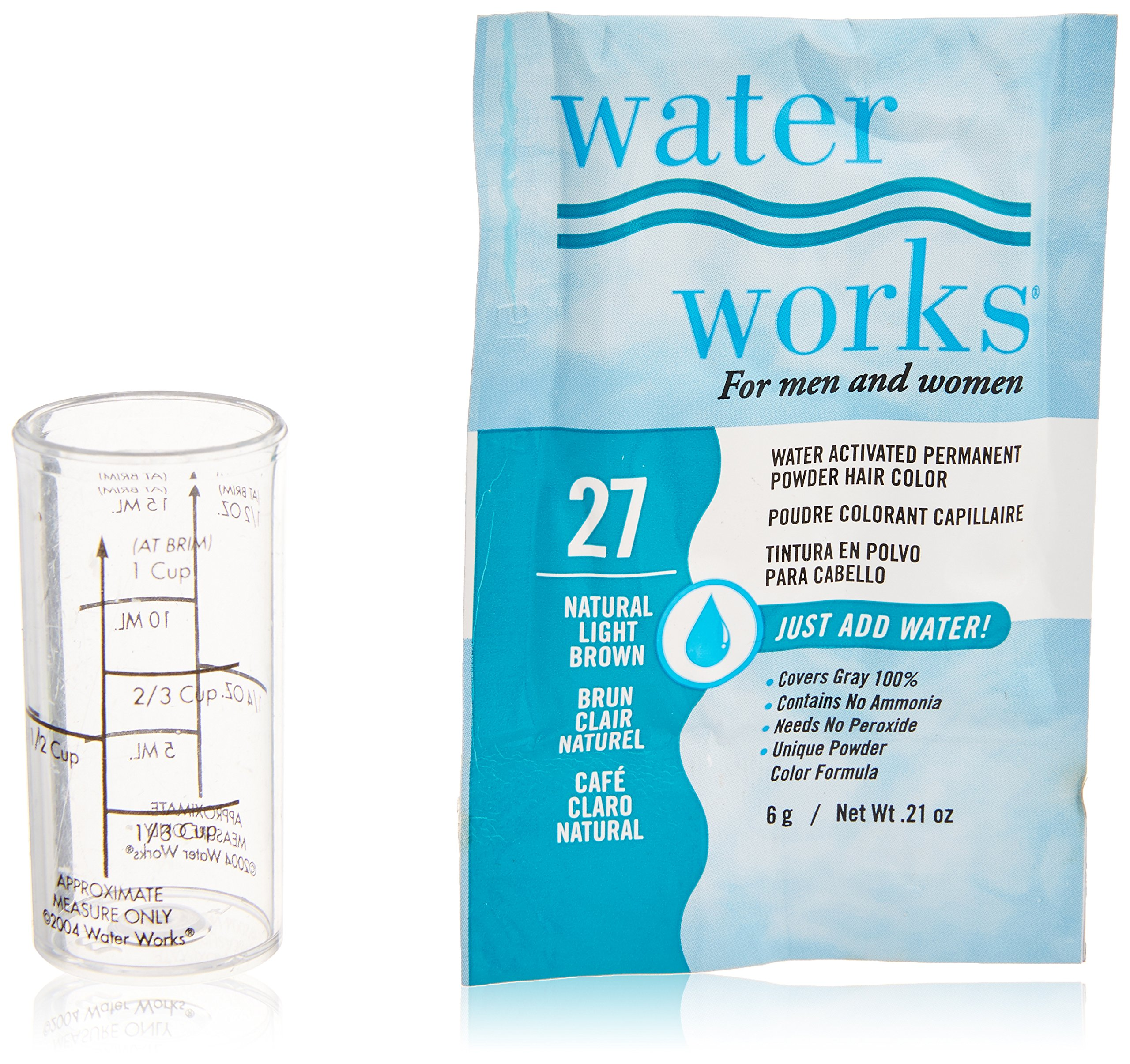 Amazon Water Works Permanent Powder Hair Color 27 Natural