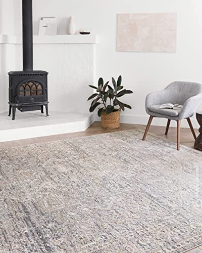 Loloi II Lucia Collection Distressed Persian Area Rug