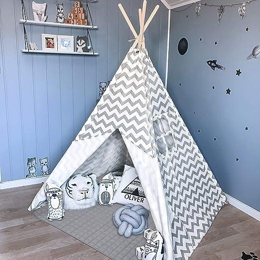 Amazon.com: Tienda de campaña Tiny Land Teepee para niños ...