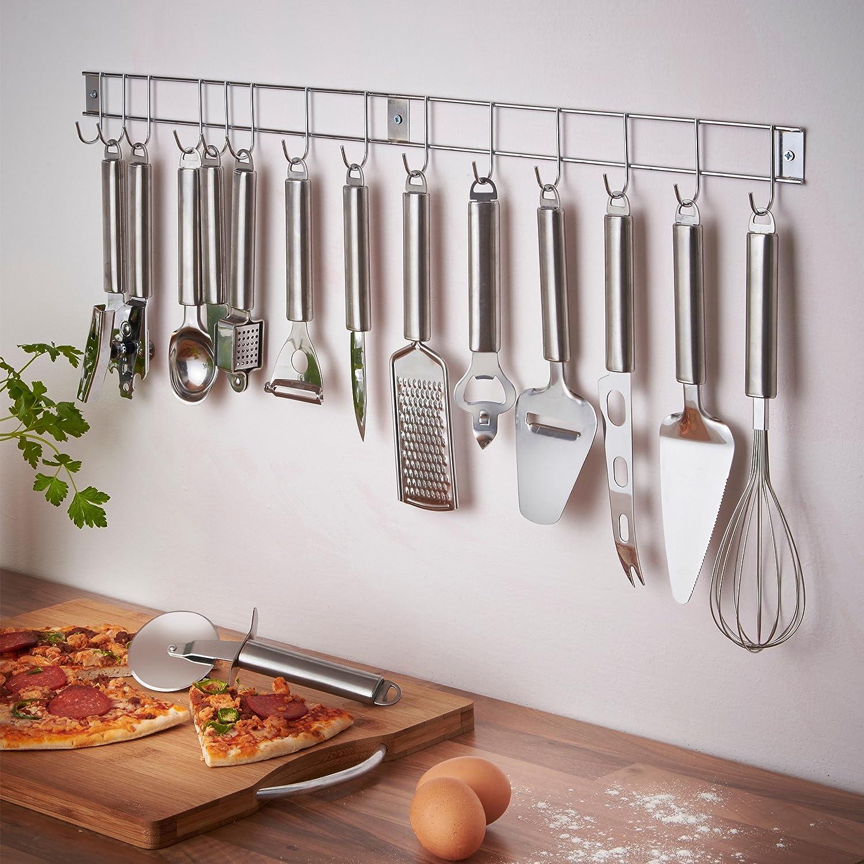 VonShef: 12-teiliges Edelstahl Küchenhelfer Küchenutensilien ...