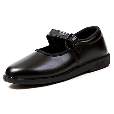 Liberty Girl School Black Shoes