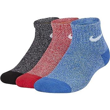 Nike Y NK EVRY Cush AKL 3PR - Marl - Calcetines, Unisex Infantil