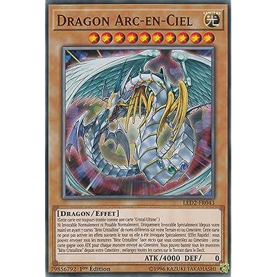Carte Yu-Gi-Oh!Dragon Arc-en-Ciel : LED2-FR043 -VF/COMMUNE-