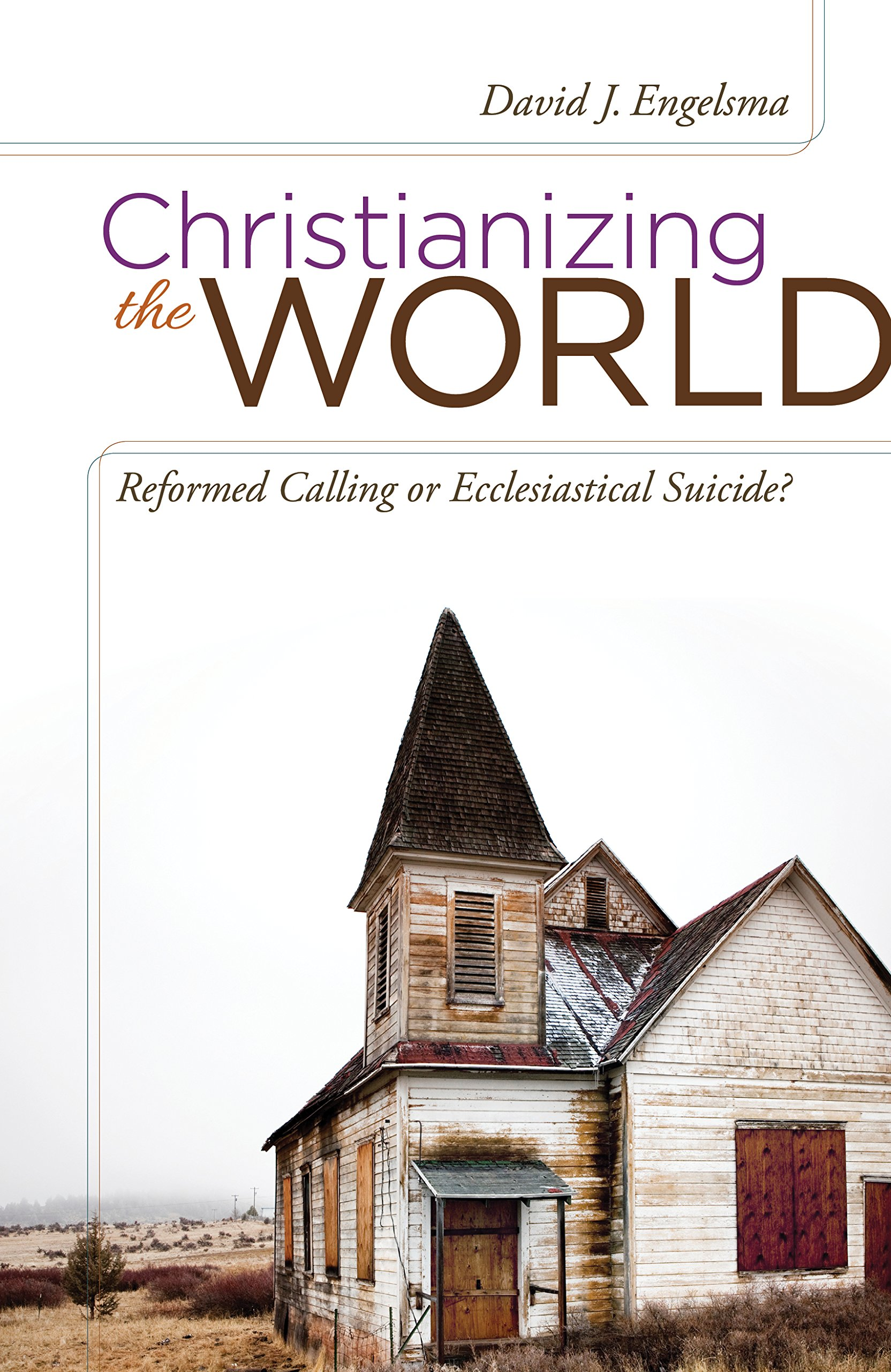 Christianizing the World: Reformed Calling or Ecclesiastical Suicide ebook