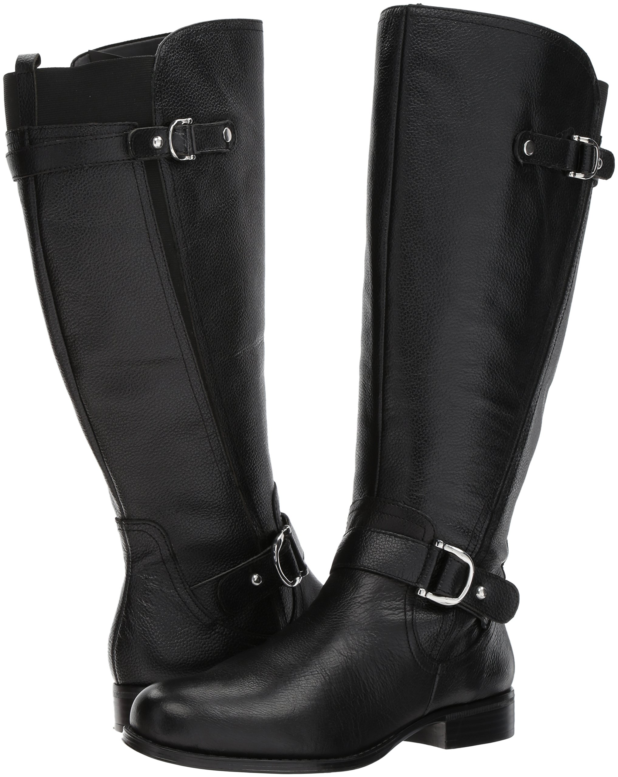 Naturalizer Women's Jenelle Wc Riding Boot, Black, 7.5 M US by Naturalizer (Image #6)