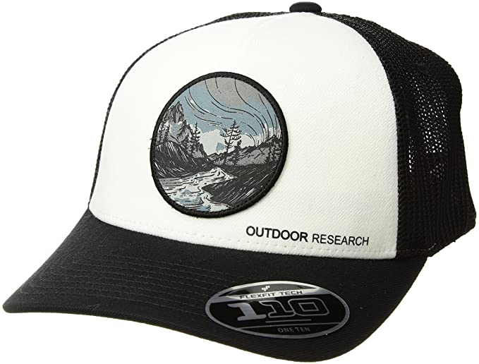 6ce97621539 Amazon.com: Outdoor Research Alpenglow Trucker Cap, Black, 1size ...