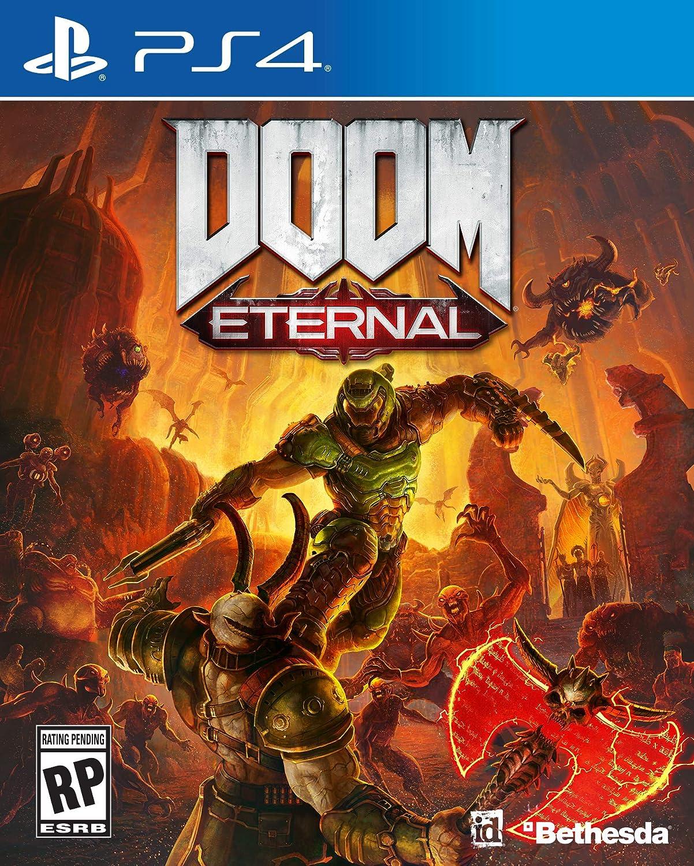 Amazon com: Doom Eternal - PlayStation 4: Video Games