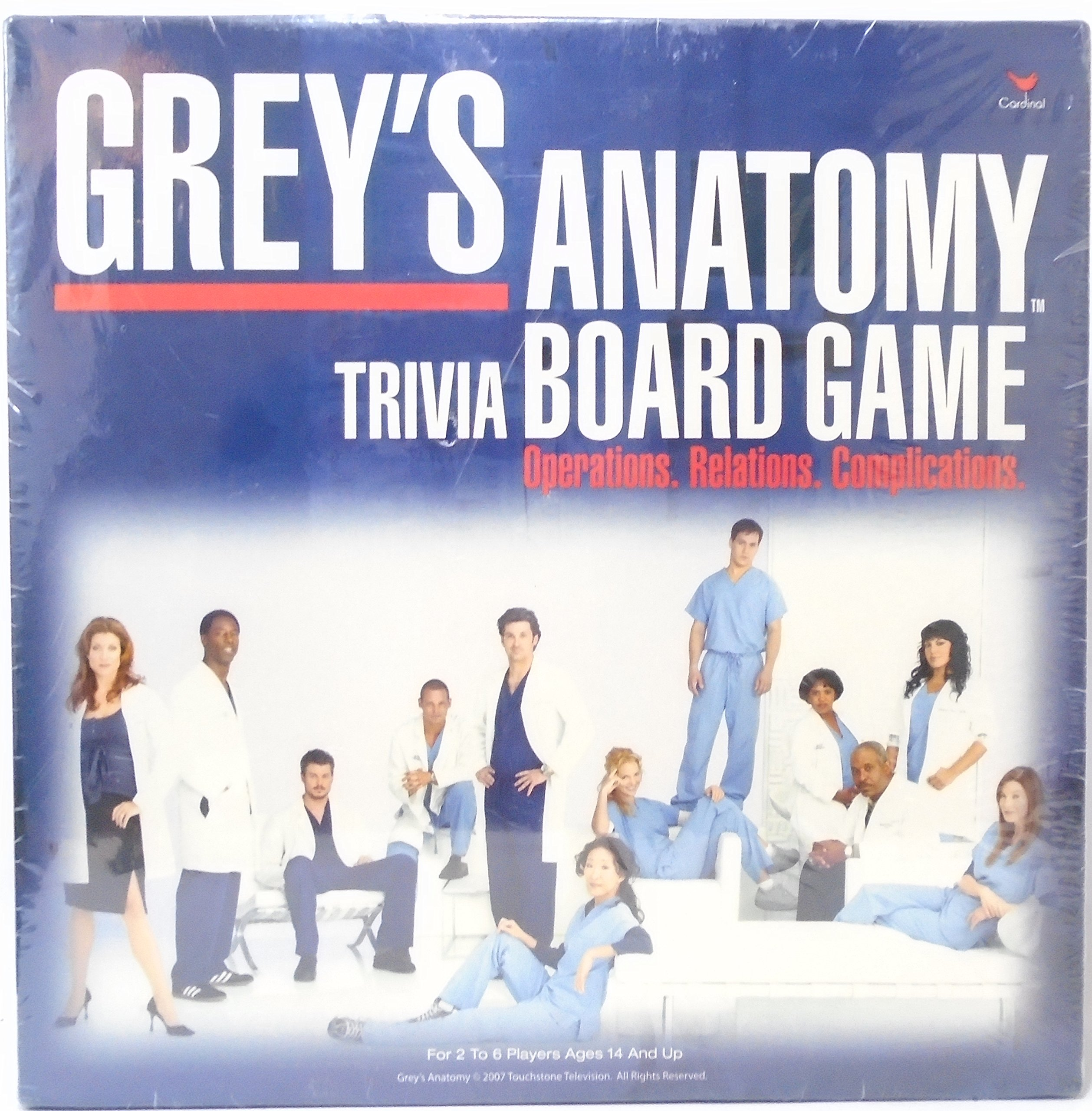 Cardinal Industries Grey's Anatomy Game by Cardinal Industries