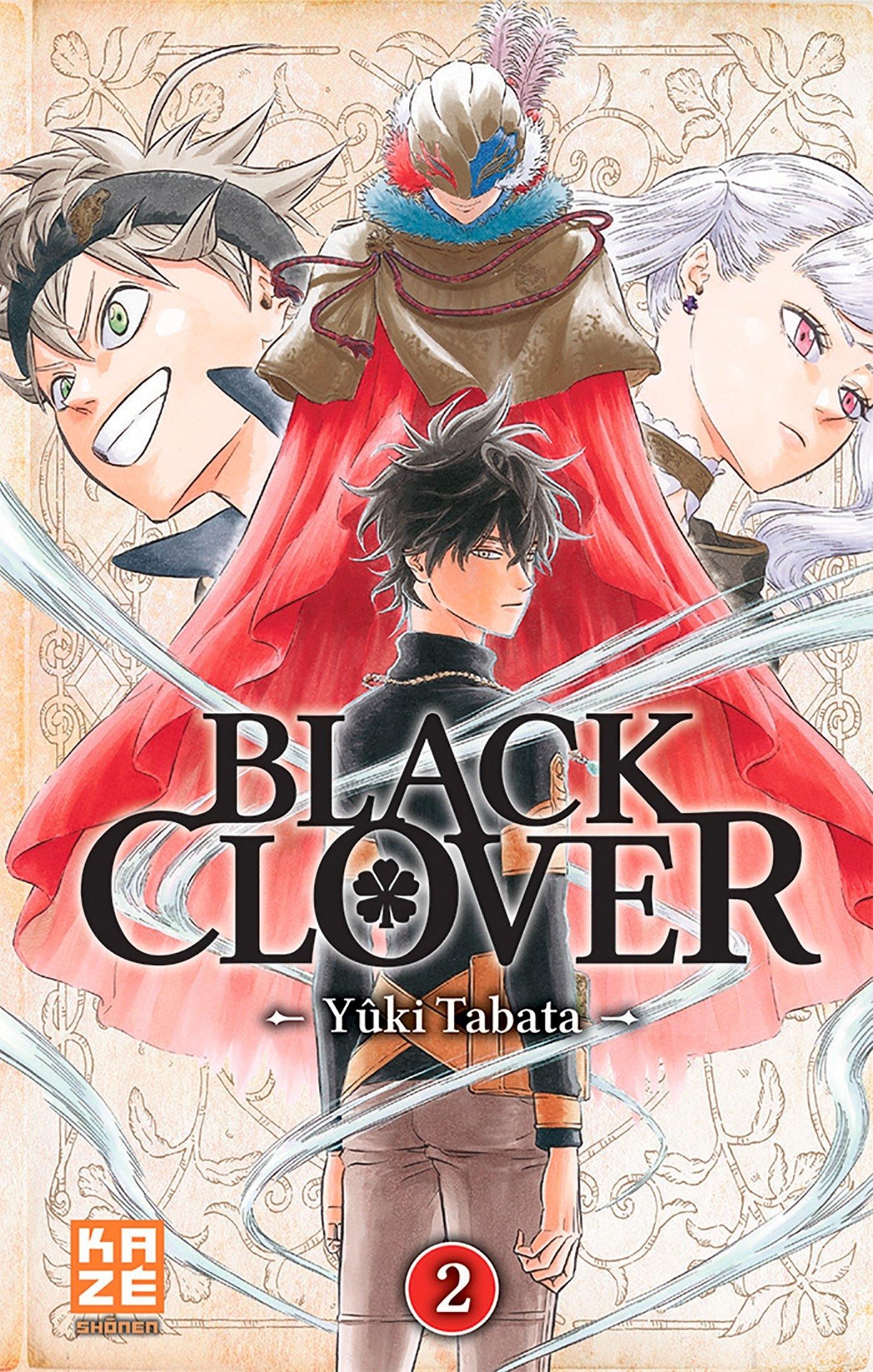 Black Clover T02 por Yuki Tabata