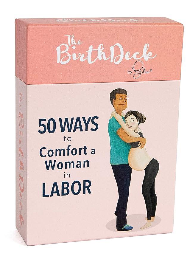 Amazon.com: The Birth Deck by Glow: 50 maneras de comodidad ...