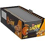 Nestlé LION 2GO Peanut Riegel Multipack mit Erdnüssen, Cranberries & Rosinen, bissiger Knusperreis, Karamell, das besondere Beißerlebnis, Menge: 16er Pack mit jeweils 4 Riegeln (16 x 4 x 33 g)