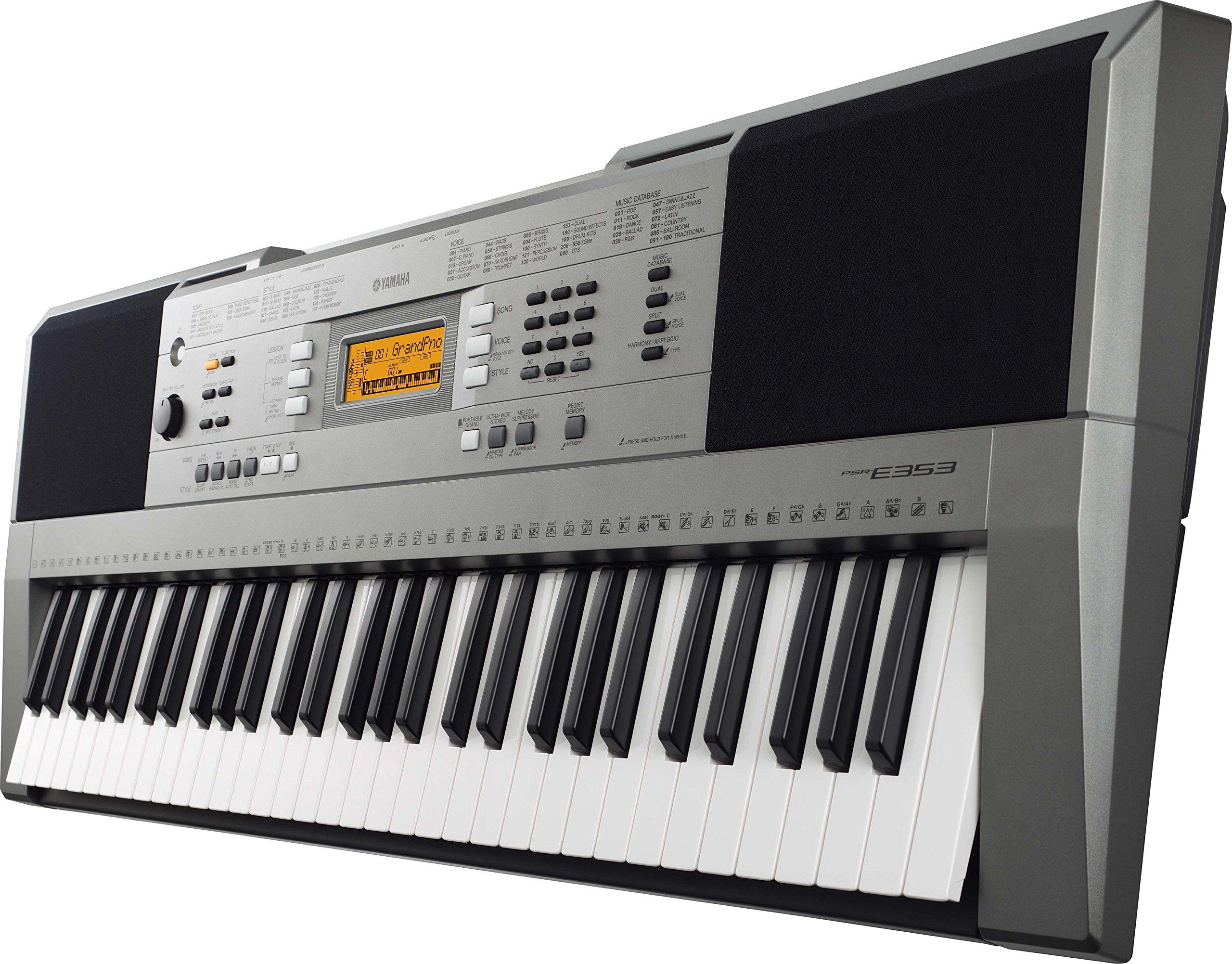 Yamaha PSR E353 Vs. Casio CTK 4400