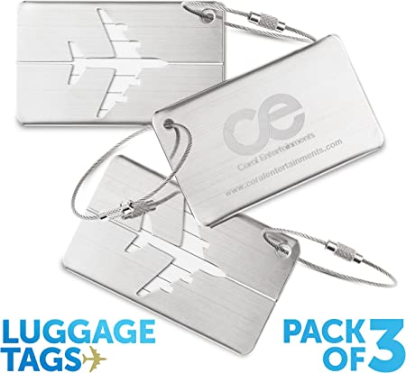 Coral Entertainments Stylish Luggage Tag