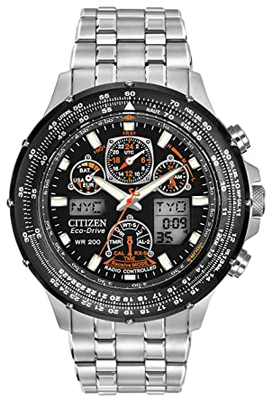 cropped at radio rubber first citizen watches mens p t black thumb strap controlled fffcfa a class skyhawk