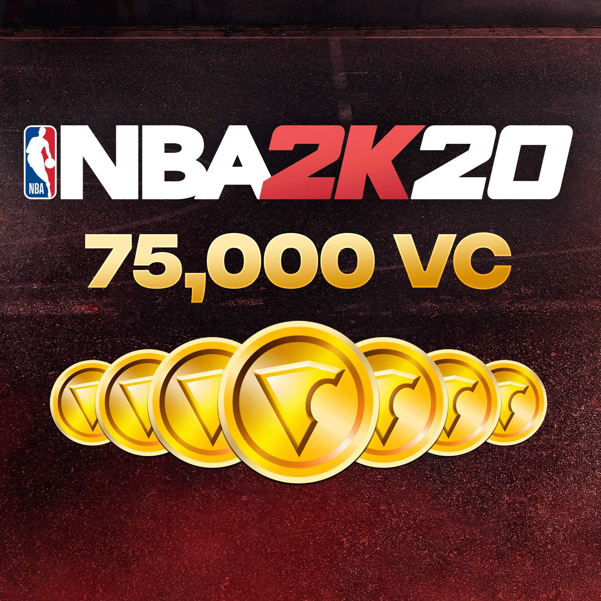 NBA 2K20: 75000 VC Pack - [PS4 Digital Code] by 2K Games