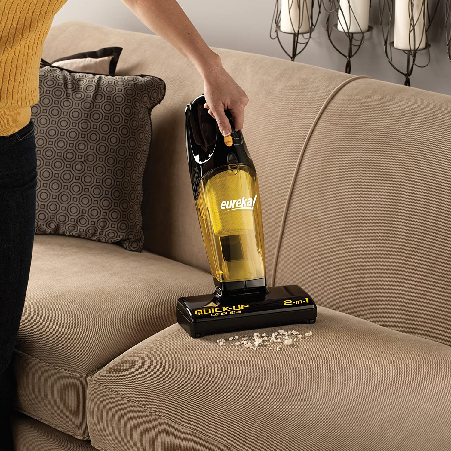 Eureka Quick-Up Cordless 2-in-1 Stick Vacuum, 96H Review