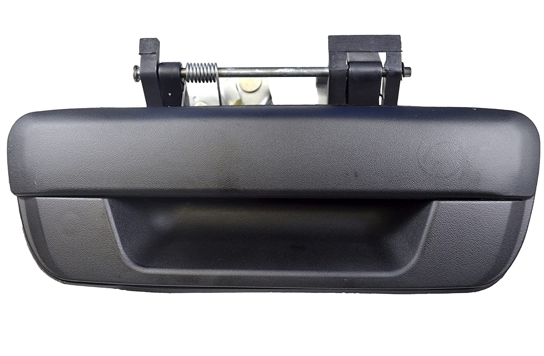 PT Auto Warehouse GM-3562A-TGK - Tailgate Handle, Textured Black - without Keyhole