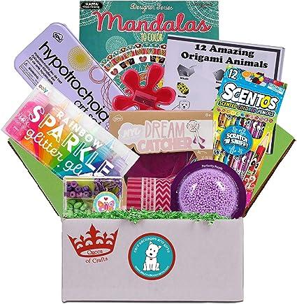 Amazon.com: Queen Of Crafts – regalo de cumpleaños o Paquete ...