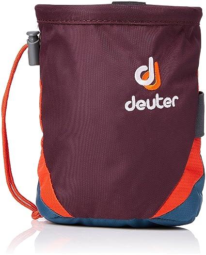 Deuter Gravity Chalk Bag I M Bolsa de Magnesio, Unisex Adulto, Morado (Aubergine/